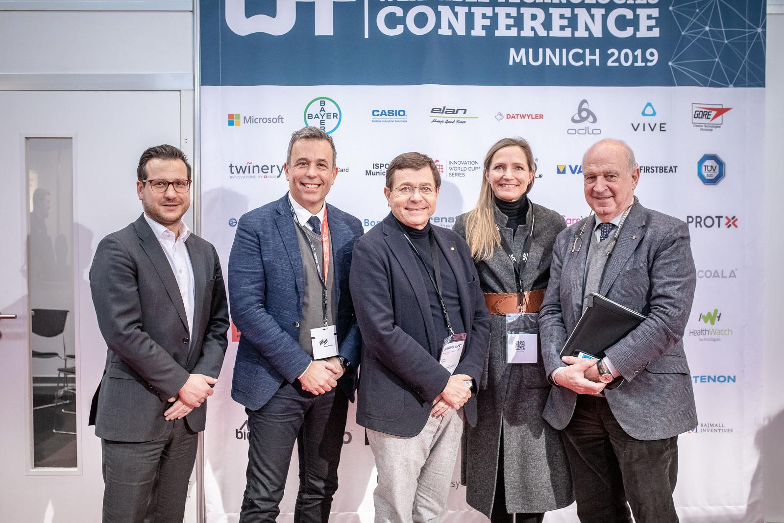 THE INTERNATIONAL FEDERATION OF SPORTS MEDICINE AT THE WEARABLE TECHNOLOGIES CONFERENCE 2019 IN MUNICH
