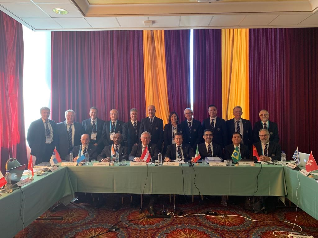 The FIMS Executive Committee held in Portoroz on 3 October 2019